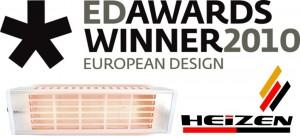 Giải thưởng thiết kế đèn sưởi nhà tắm Hans