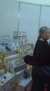 Hình ảnh gian hàng của công ty tại hội trợ triển lãm VietBuild 2014
