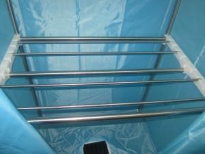 khung inox 2 thang