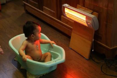 Đèn sưởi nhà tắm heizen chống chói toàn phần tốt cho bé