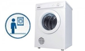Máy sấy quần áo ELECTROLUX có thể dùng treo tường