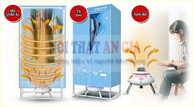 Có nên dùng máy sấy quần áo dạng tủ không?