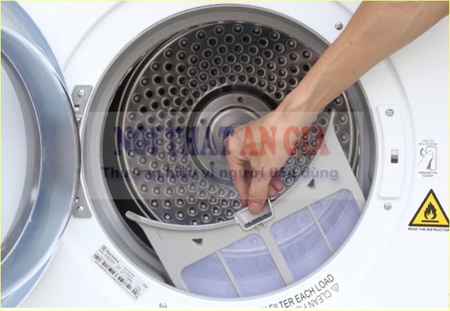 Lưu ý khi vệ sinh máy sấy quần áo công nghiệp