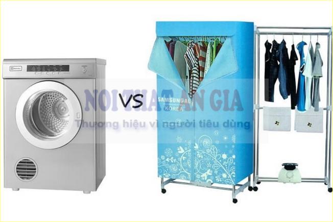 Nên dùng máy sấy quần áo hay tủ sấy