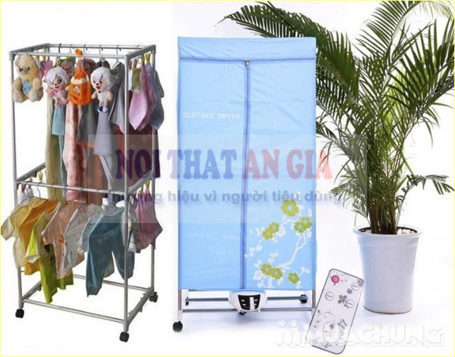 Máy sấy quần áo Thái Lan có dạng túi vải