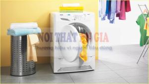 Quần áo được sấy khô nhanh hơn