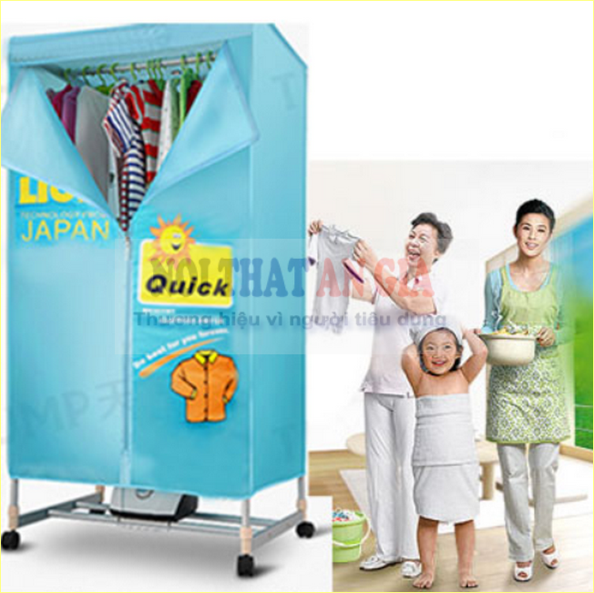 Những ưu điểm của máy sấy quần áo 2 tầng