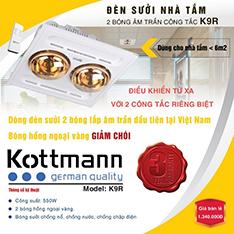 Đèn sưởi nhà tắm Kottmann